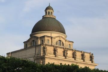 Kuppel der Staatskanzlei in München
