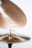 Cymbal Set Isolated on White