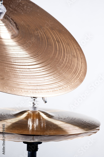 Cymbal Set Isolated on White - 14764165