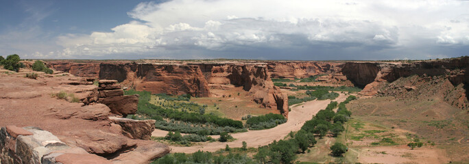 PANORAMIQUE  CANYON DE CHELLY_USA