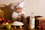Fototapety Little cook