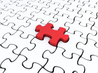 puzzles concept