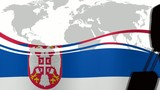 Viaggio Serbia poster