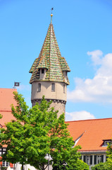 A tower in Ravensburg