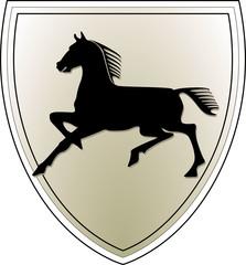wappen 1 pferd