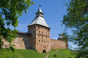 Tower of the Novgorod Kremlin