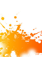 Abstract splash illustration. Vector