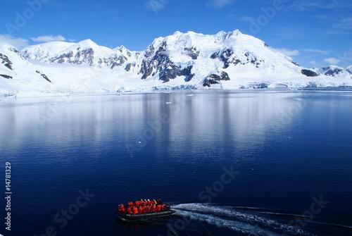 Foto op Canvas Antarctica Paradise Harbour, Antarktis