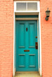 Old Colonial door in Frederick, Maryland
