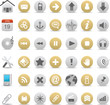 Web icons and elements