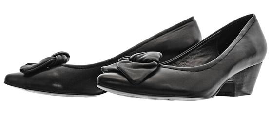 leather fancy shoe