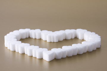 Heart of sugar.