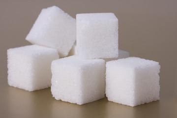 Cubes of sugar
