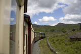 View from from the Welsh Highland Railway poster