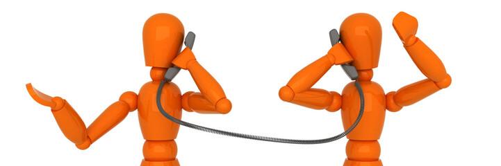 Telephone conversation.