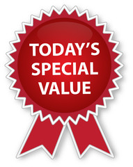 Todays Special Value Ribbon