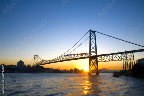 Bridge at Sunset - 14796347