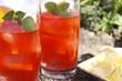 Рецепт для освежающий томатный коктейль.