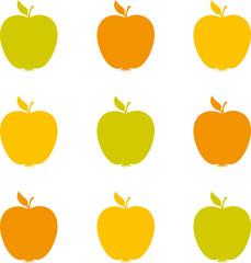 Äpfel gelb