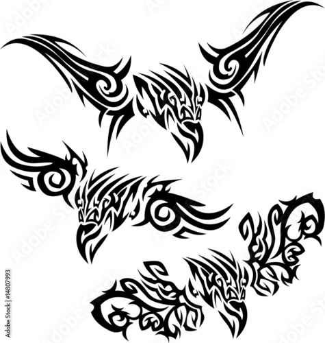 Tattoos birds of prey
