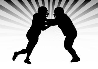 Football duel