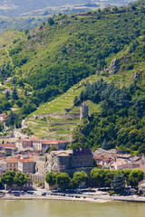 Tournon-sur-Rhone, Rhône-Alpes, France