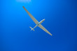 Leinwanddruck Bild - Segelflugzeug