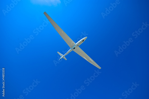 Leinwanddruck Bild Segelflugzeug