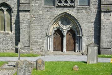 Porte d'eglise - Irlande