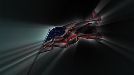 Flag Sunny Dark