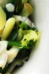 Peperoni e patate in salsa di yogurt e maionese - Contorni