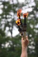 Torches de jongleur