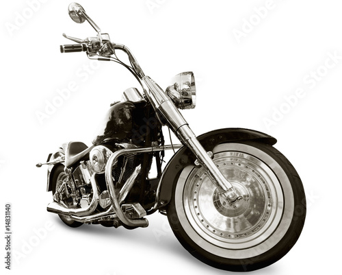 canvas print picture Motorcycle