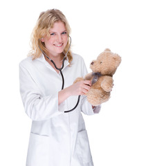 Doctor with Teddy