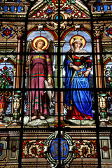 Versailles stained glass