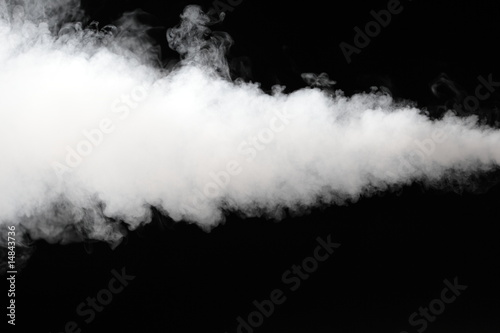 canvas print picture thick stream of fog