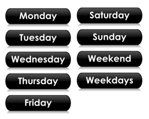 Days of the Week Icons