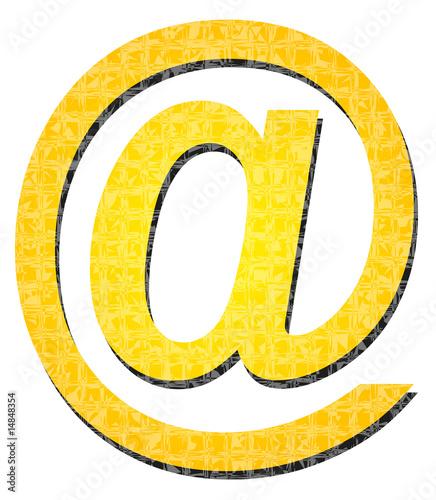 Icono de arroba
