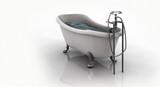 Fototapety klassische badewanne
