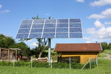 drehbare Solaranlage