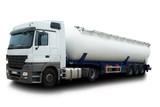 Fototapety Fuel Tanker Truck