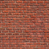 Fototapety Seamless tile pattern of a clay brickwall
