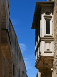 Maltese Wooden Balcony poster