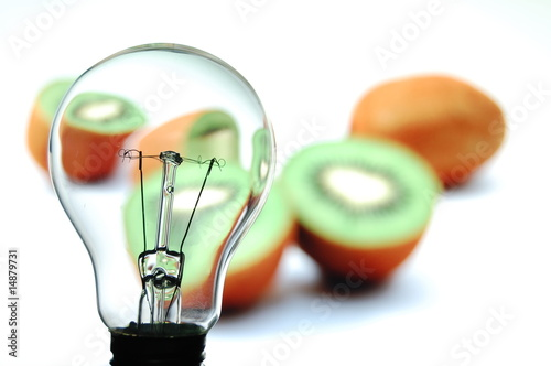 bulb and fruit