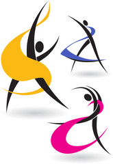 Gymnastic figures