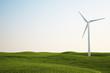 wind turbine on green grass field