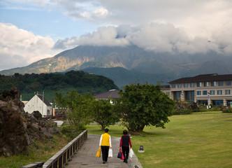 Vulkan Sakurajima, Japan