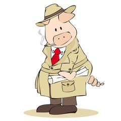 Bogart pig