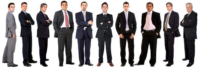 Large business team