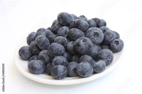 canvas print picture Bilberry